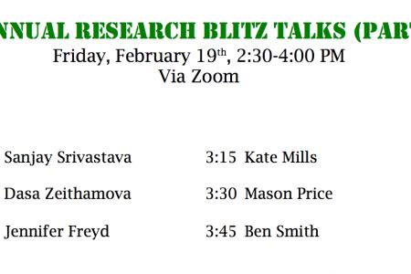 6th Annual Research Blitz